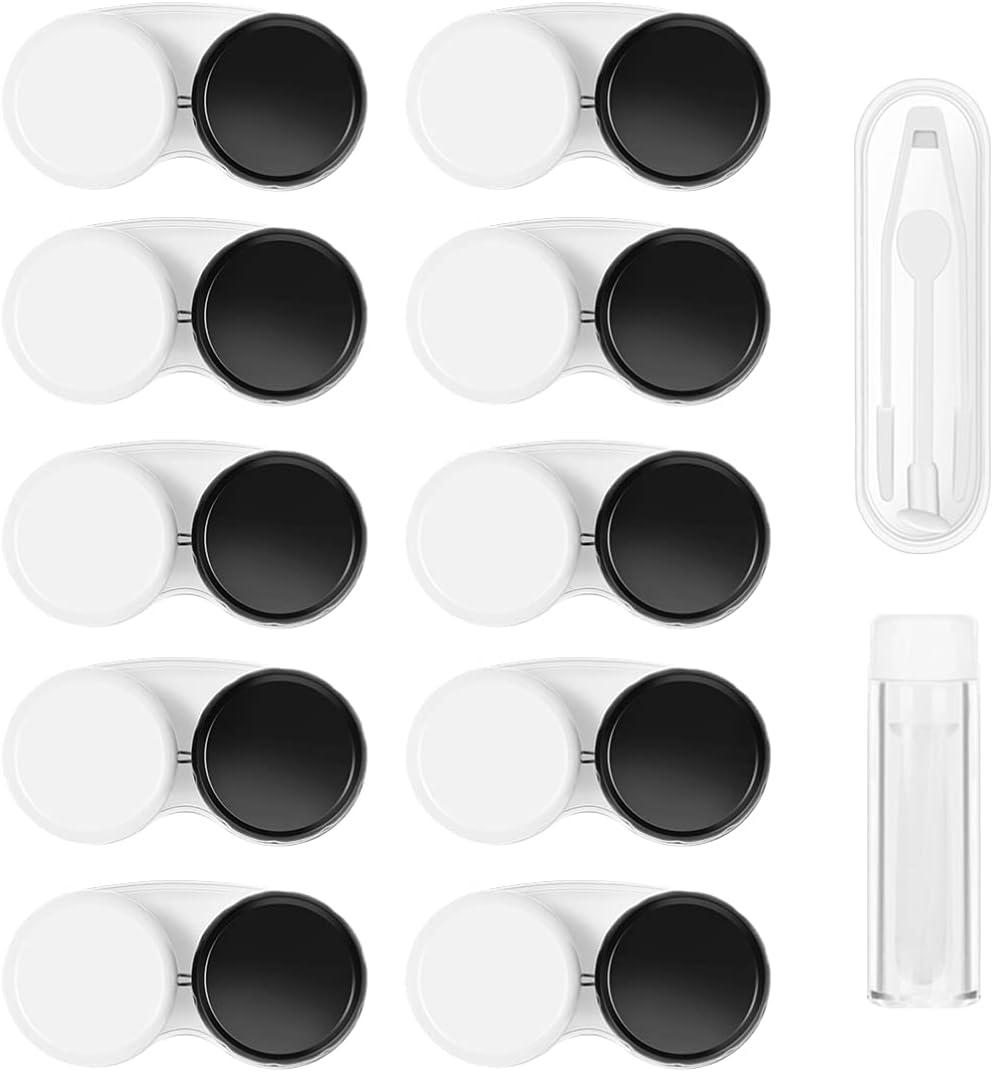 Max 72% OFF MILISTEN Max 75% OFF 12Pcs Contact Lens Case E Left Box Right
