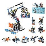 TRCS Stem Robot Set 10 en 1 Robot electrónico, juguete robot programable, juguete de construcción para niños, compatible con Lego