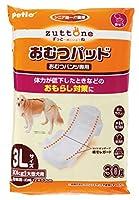 zuttone 老犬介護用 おむつパッドK 3L 【おまとめ16個】