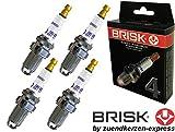 BRISK Extra DX15LTC-1 1349 Bougies d'allumage, 4 pièces