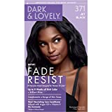 Permanent Hair Color by Dark and Lovely Fade Resist I Up to 100% Gray Coverage Hair Dye I Jet Black...