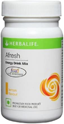 Herbalife Afresh Energy Drink Mix (Lemon, 50 g)