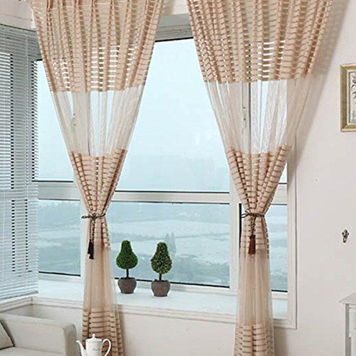 cortinas cocina bordadas