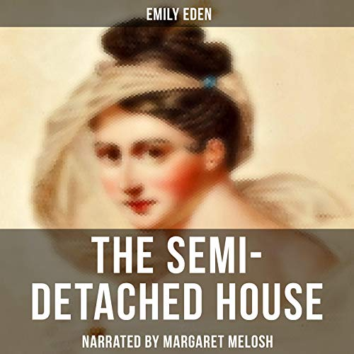 The Semi-Detached House audiobook cover art