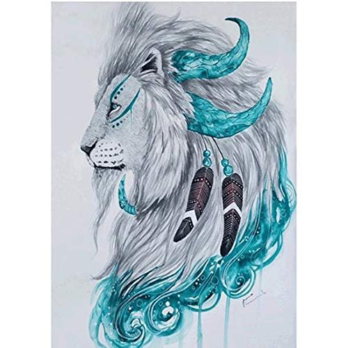 Ysswjzz DIY 5D Diamond Painting Kits for volwassenen Volledige Drill Diamond schilderen for decor van de huismuur Gift The Lion King