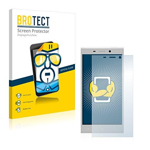BROTECT Schutzfolie kompatibel mit Gionee Elife E8 (2 Stück) klare Bildschirmschutz-Folie