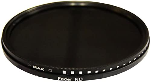 popular PLR Optics 43MM HD outlet sale Multi-Coated Variable Range (ND3, ND6, ND9, ND16, ND32, ND400) Neutral Density (ND) Fader Filter - lowest 6 Filters in 1! For The Canon EOS-M Mirrorless Camera Which Has The (22mm) Canon EF-M Lens sale