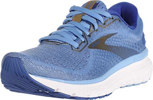 Brooks Glycerin 18, Zapatillas para Correr Mujer, Cornflower/Blue/Gold, 41 EU