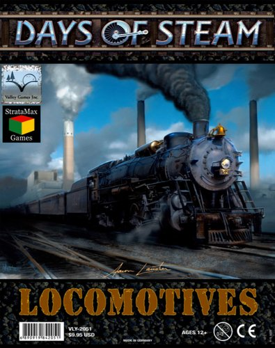 Valley Games 2051 - Days of Steam Locomotives Kartenspiele