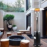 Calentador Patio Calentador Calentador de Gas en Forma de Paraguas hogar Licuado de Petróleo Calentador Estufa Calentador al Aire Libre Ahorro de energía de Gas Natural Gas Grill