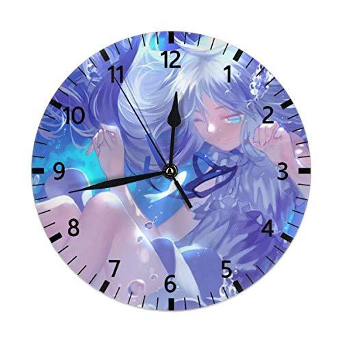 Honma Meiko Muet Non Tick Horloges Murales en Bois, Convient...