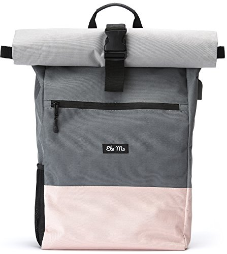 Ela Mo Damen Rucksack Daypack, Rose On Rocks