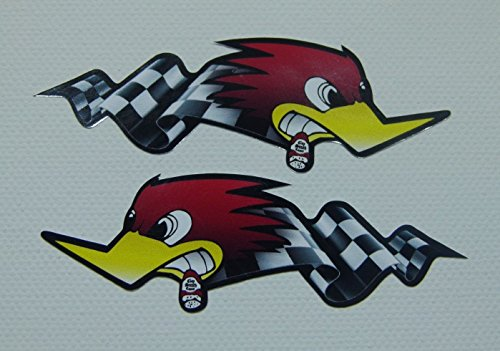 cut-it folientechnik & design MG302 / 2X Horsepower Aufkleber je 19x6,5cm Hot Rod Retro Sticker V8 Speed Oldschool Bike Vintage Racing USA Oldtimer