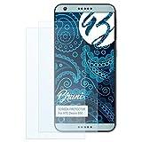 Bruni Schutzfolie kompatibel mit HTC Desire 650 Folie, glasklare Bildschirmschutzfolie (2X)