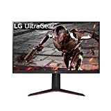 "LG 32GN650-B 32"" Ultragear QHD (2560 x 1440) Gaming Monitor with 165Hz Refresh Rate with 1ms Motion Blur Reduction, HDR 10 Support and AMD FreeSync – Black"
