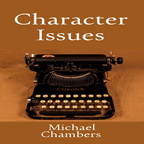 Character Issues audiobook cover art