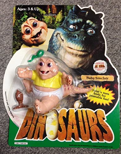 Dinosaurs Baby Sinclair Action Figure by Disney