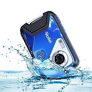 Rollei Sportsline 60 Plus – fotocamera digitale impermeabile con videocamera da 21 MP e Full HD – Sports-Cam con ampio display, 21 modalità scena, custodia robusta , perfetta per i bambini.