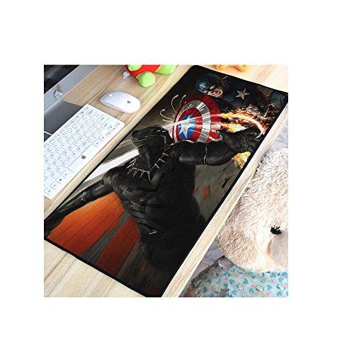 3D Black Panther Large Keyboard Mat Gaming Mouse Pad Desk Mat Table Mat 1223'