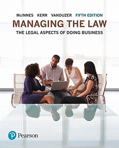 MANAGING THE LAW 5