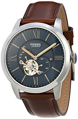 Relógio Fossil, Pulseira de Couro, Masculino Marrom ME3110/0AN