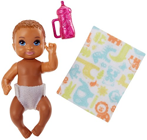 Bebé Muñeca Morena | Barbie | Mattel FHY78 | Babysitter | Familia