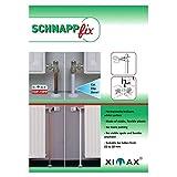 XIMAX Heizkörper Zubehör Schnappfix 8-fach, weiß, 90001