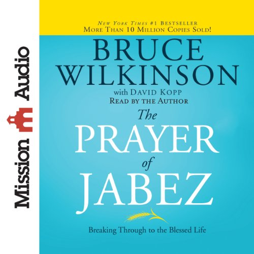 The Prayer of Jabez audiobook cover art