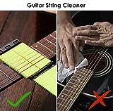 Immagine 2 fansjoy pulitore corde chitarra scrubber