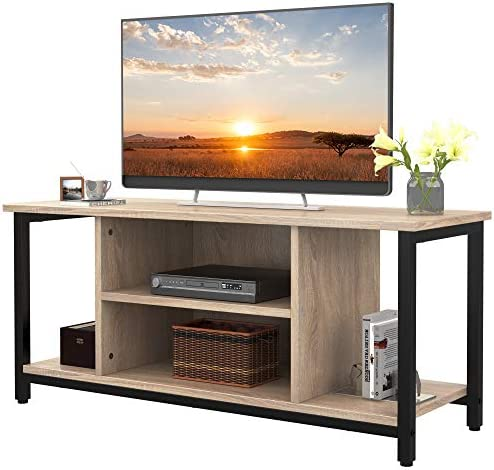 SMAGREHO TV Stand for TV s up to 50 Flat Screen TV Console Storage Cabinet Entertainment Center product image
