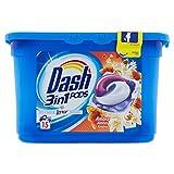 Dash Pods Allin1 Toque de Lenor, Pods para colada, 15 lavados, limpieza a baja temperatura de 30 °C y perfume duradero