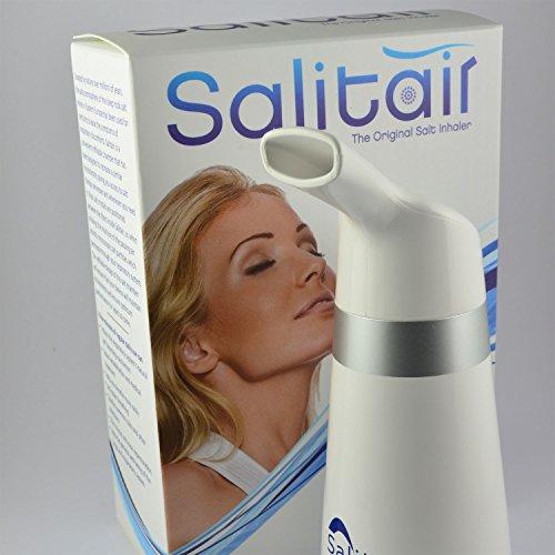 Salitair - Inhalator mit Steinsalzkristallen -