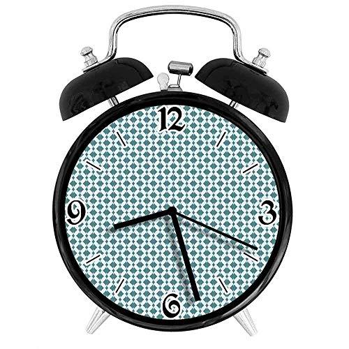 BeeTheOnly Exquisito Reloj Despertador de Rayas simétricas
