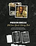 Prison Break Dots lines Spirals Coloring Book: New Kind Of Stress Relief Coloring Book For Kids And Adults