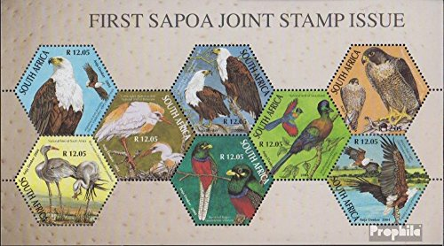 Zuid-Afrika Mi.-Aantal.: Block 103 (compleet.Kwestie.) 2004 Vereniging Post Company (Postzegels voor verzamelaars) vogels