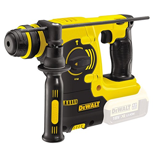 DEWALT DCH253N-XJ DCH253N 18 V XR Li-Ion SDS Plus Rotary Hammer Drill-Yellow/Black