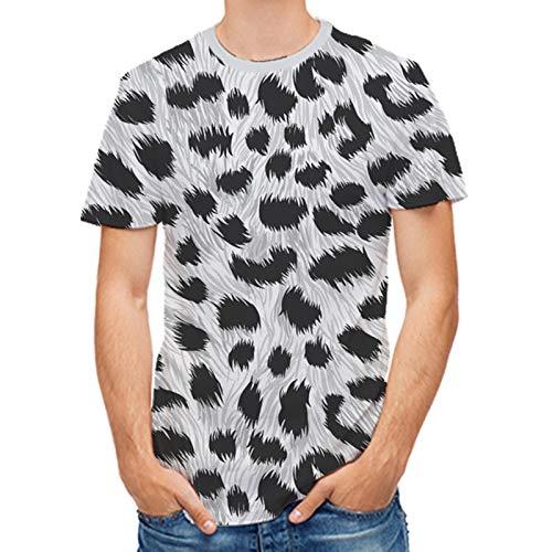 XDJSD Camiseta De Manga Corta para Hombre Camiseta De Cuello Redondo para Hombre Camiseta De Gran Tamaño Camiseta Estampada para Hombre Camiseta Casual Suelta De Verano De Gran Tamaño