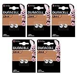 Duracell Electronics - Juego de 10 pilas alcalinas (LR44, A76, 1.5 V)
