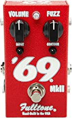 "Vintage-style fuzz that's fat and harmonic Cleans up like a vintage Fender amp Two hand-picked germanium transistors Countour and Input trim knobs Internal ""bias"" trimmer adjusts clipping symmetry, harmonics, and tracking"