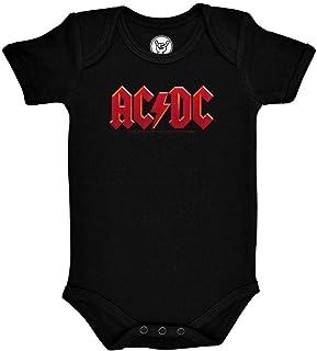 Metal-Kids AC/DC Logo Multi - Baby Body Größe 80/86