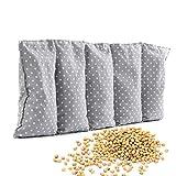 Amilian cuscino termico con noccioli di ciliegia, 55 x 20 cm,...
