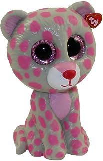 TY Beanie Boos - Mini Boo Figures Series 2 - TASHA the Pink   Grey Leopard 3804bb050724