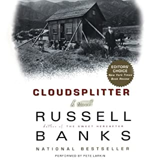 Cloudsplitter audiobook cover art