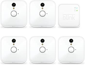 5 Camera Kit Blink Indoor Home Security Camera System