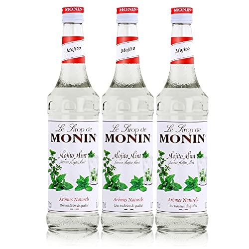 Monin Sirup Mojito Mint, 0,7L 3er Pack