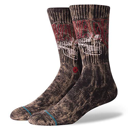 Stance Savage Skull Socks - Black Large
