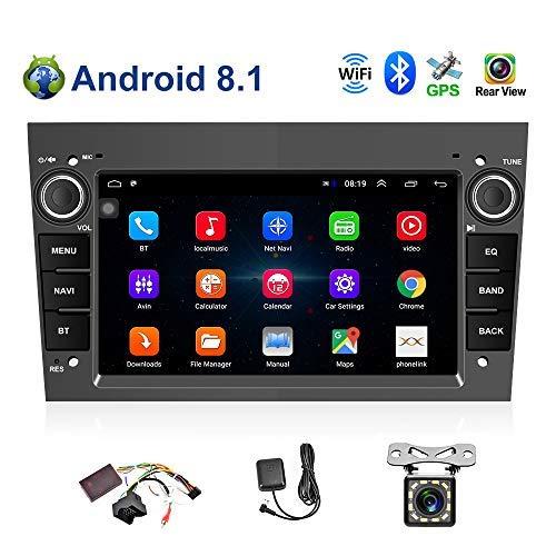 Android 8.1 Autoradio 2 Din Autonavigations-Haupteinheit Stereo-Multimedia-Player GPS-Radio 1024P HD-Touchscreen Für Corsa Zafira Antara Astra Vectra Meriva Unterstützung Bluetooth FM Radio WiFi