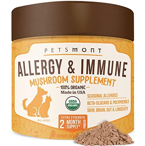 Top 10 best selling list for mushroom supplement for dog allergies