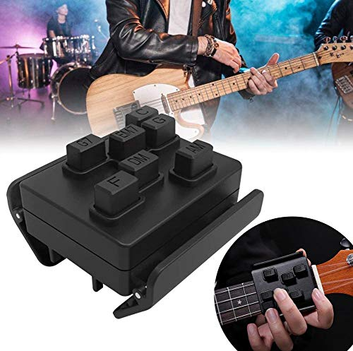 hook.s Gitarren-Lernsystem, Gitarren-Lehrmittel Klassischer Assistent Übungs-Tuner-Werkzeuge und schmerzfeste Finger-Gitarren-Hilfe, gutes Geschenk für Anfänger von Gitarrenliebhabern