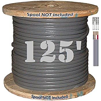 125 ft 6//3 NM-B WG Romex Wire//Cable